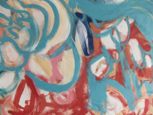 Beth Inglish Abstract Art Nashville interior design consulting decorator